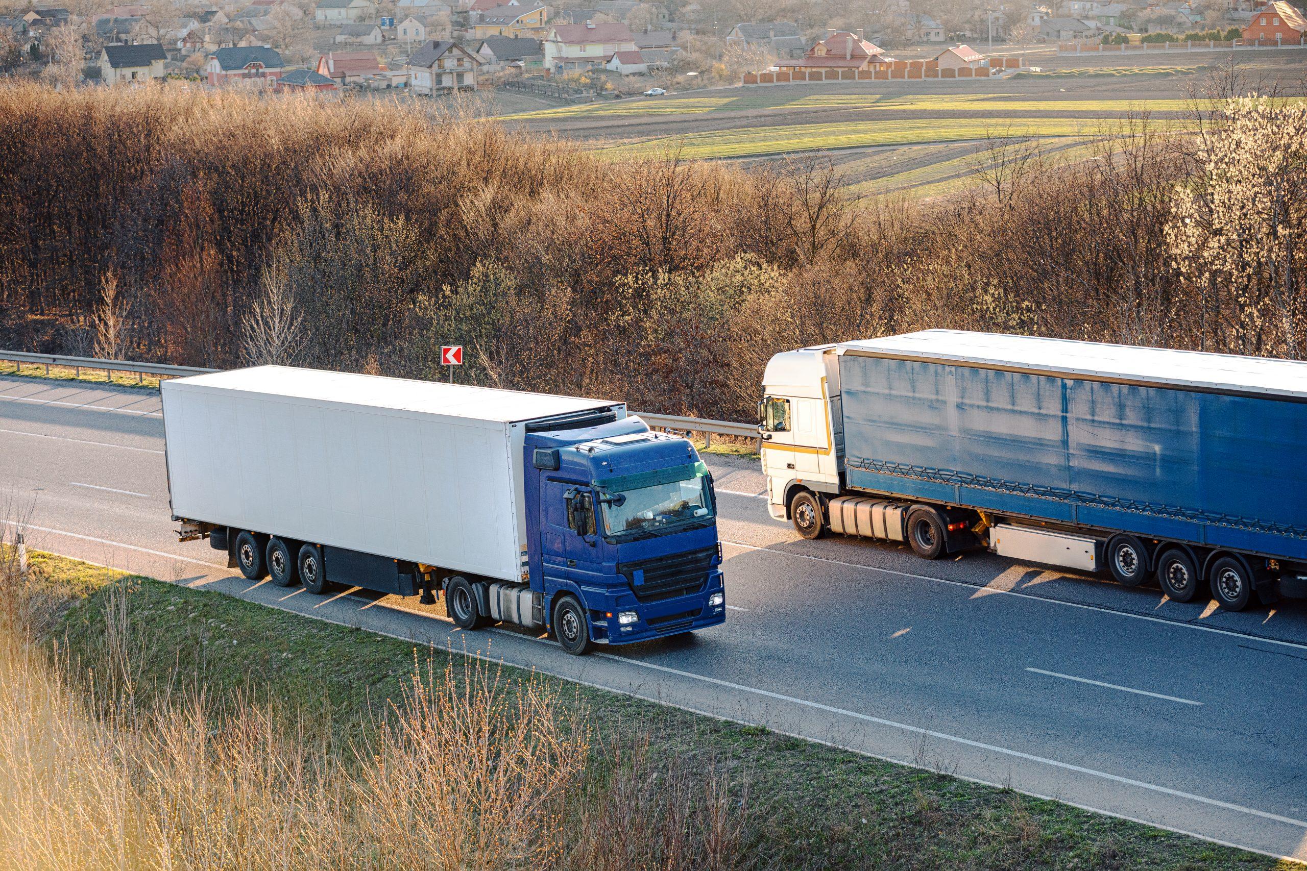 Land transport of national goods