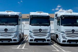 Camiones Mercedes Grupo HEBOMAR