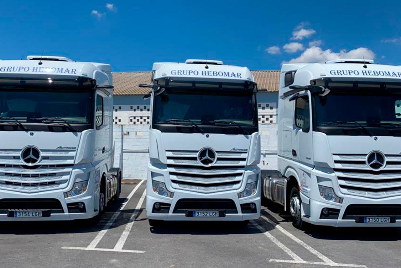 Mercedes Group HEBOMAR trucks