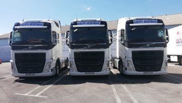 Ampliamos nuestra flota con 3 nuevos Volvo FH500